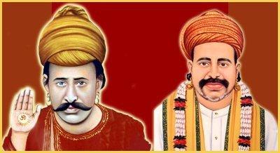 Sain Kanwarram Sahib With Satguru Sain Satramdas sahib
